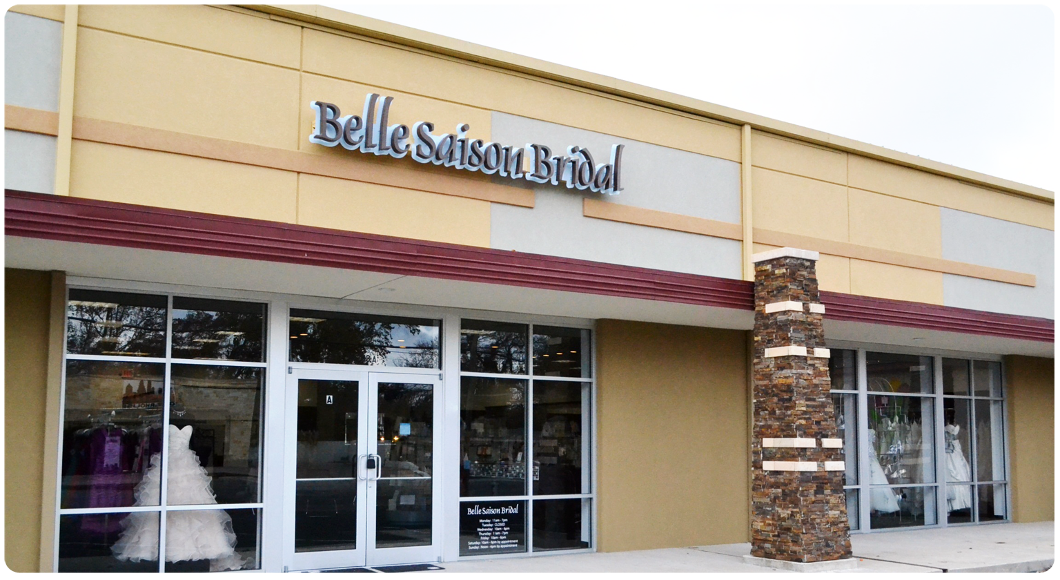 Belle saison bridal shop in austin texasbelle saison for Wedding dress shops austin tx