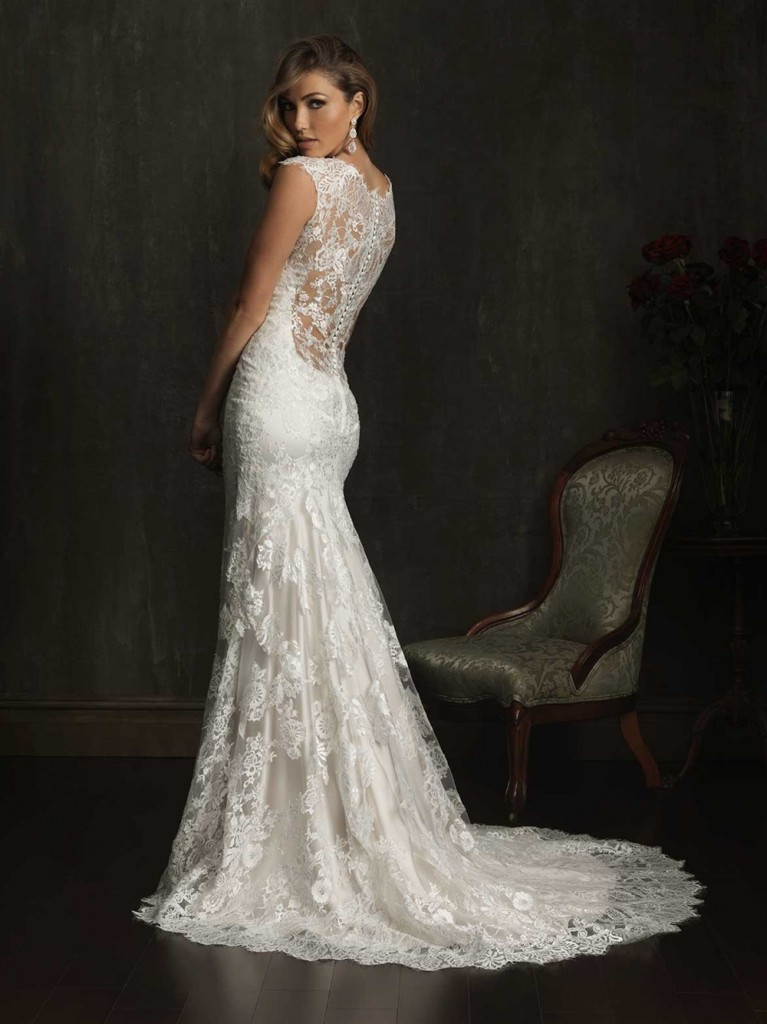 allure 9068b- belle saison bridal